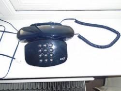 A BLUE BT FREELANCE LANDLINE PHONE DUET 200 PLUS MODEL GOOD WORKING ORDER PLUS A SKYPE VOIP PHONE