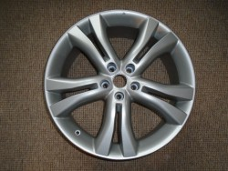 ONE ONLY 20 X 7.5J 5 STUD ALLOY WHEEL FOR TYRE SIZE 235/55R20, PROFESSIONALLY REFURBISHED