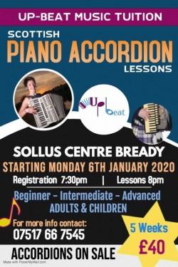 Scottish Piano Accordion Lessons