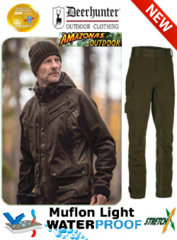 Deerhunter Muflon Light Jacket and Trousers