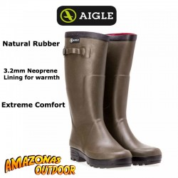 Aigle Benyl ISO Welly Boot (3.2mm Neoprene Lined)