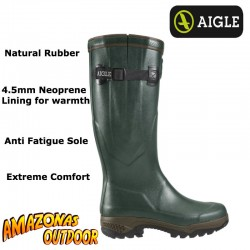 Aigle Parcours 2 ISO Welly Boot (4.5mm Neoprene Lining)