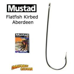 Mustad Flatfish Kirbed Aberdeen Hooks