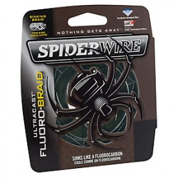 Spiderwire Fluoro-Braid (Moss Green)