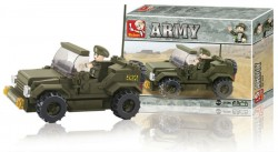 Army Jeep (Building Blocks) by Sluban