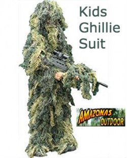 Kids Ghillie Suit (Woodland)