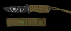 Cord Wrapped Tactical Knife (with WW2 Print)