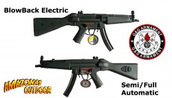 MP5 BlowBack by G&G (AirSoft)