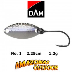 DAM Effzett Area-Pro Trout Spoon (Blue/Silver) 60181