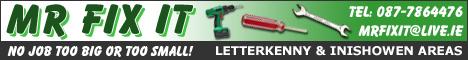 Mr. Fix It - Letterkenny & Inishowen - 0877864476