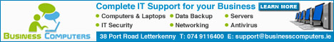 Business Computers - Complete IT Support For Your Business - Letterkenny, Co. Donegal