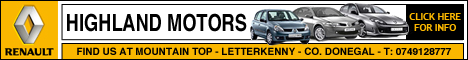 Highland Motors - Renault Dealer, Letterkenny, Co. Donegal
