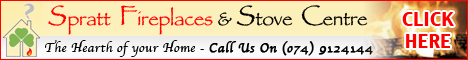 Spratt Fireplaces and Stove Centre Donegal