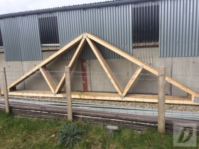 9 Roof Trusses For Sale New 15 Each Dungiven Derry