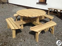 Garden Table - Lazy Daze Garden Furniture, Ballybofey, Donegal for sale