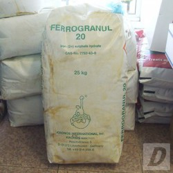 Grass Iron Sulphate Hydrate