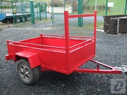 6x4 car trailer for sale