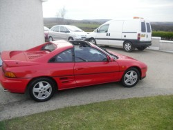 1992 TOYOTA MR2 T BAR  for sale