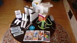 Wii console boxed with games & accessories for sale