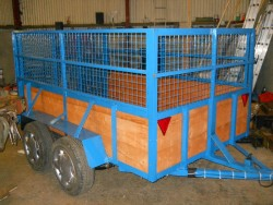 8FTX5FTX4FT HIGH TWIN Axle TRAILERS for sale