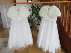 Flower Girl Dresses and Shoes for sale