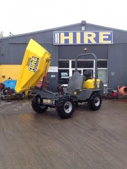 3 ton dumper for hire