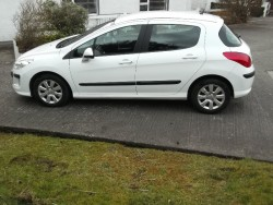 2011 Peugeot 308 Diesel NCT and TAXED for sale