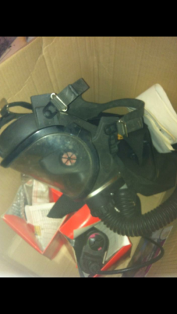 New industrial gas mask