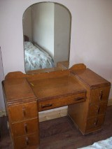 Old style dressing table