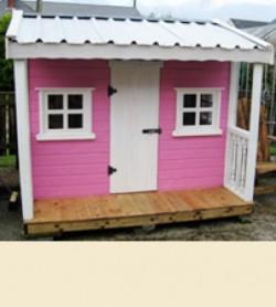 8 x 6 Standard Playhouse Pink Ladies