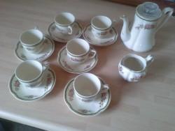 Elegant Antique 14 piece coffee set from 1800s