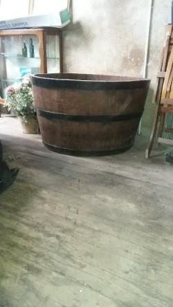 large distillery tub