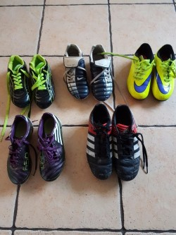 Football Shoes sizes 12, 1, 3