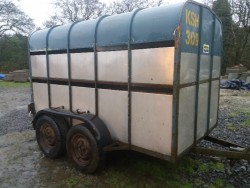 Crooks Cattle Trailer 10x5 for sale