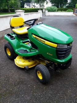 John Dere Ride OnMower for sale