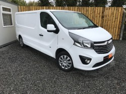 2015 VAUXHALL VIVARO SPORTIVE 2900 LONG WHEEL BASE for sale
