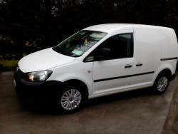 142 VW caddy van , tested, 1.6tdi only 62000klm  for sale