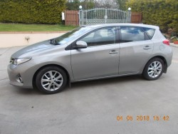 142 Toyota Auris VVT-I ICON for sale