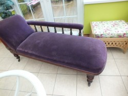 antique victorian chaise lounge for sale
