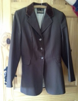 WOMENS RIDING/SHOW JACKET SIZE 36, Caldene, great condition