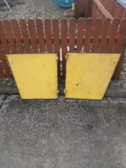 Kramer 312 lower doors&top