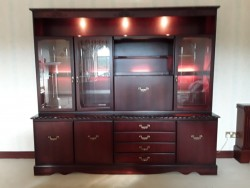 WALL UNIT WITH LIGHTING for sale
