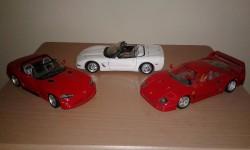 Burago 1:18 Supercar Models
