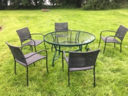 Summer table and chairs  for sale