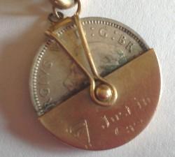 Vintage Hallmarked Gold Charm Bracelet +12 Rare Charms + Padlock