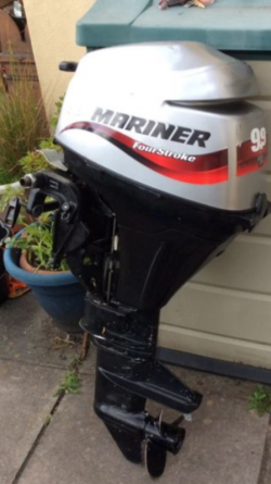 Mariner 9.9hp 4-stroke Longshaft Running 100% for sale