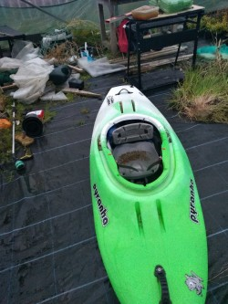 pyranha stretch kayak for sale