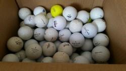 20 USED GOLF BALLS