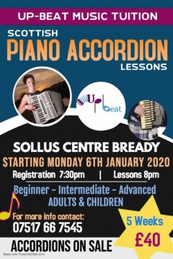 Scottish Piano Accordion Lessons