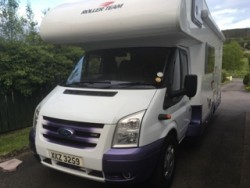 2007 Ford CI Motor home for sale. 5 Berth, low mileage  for sale